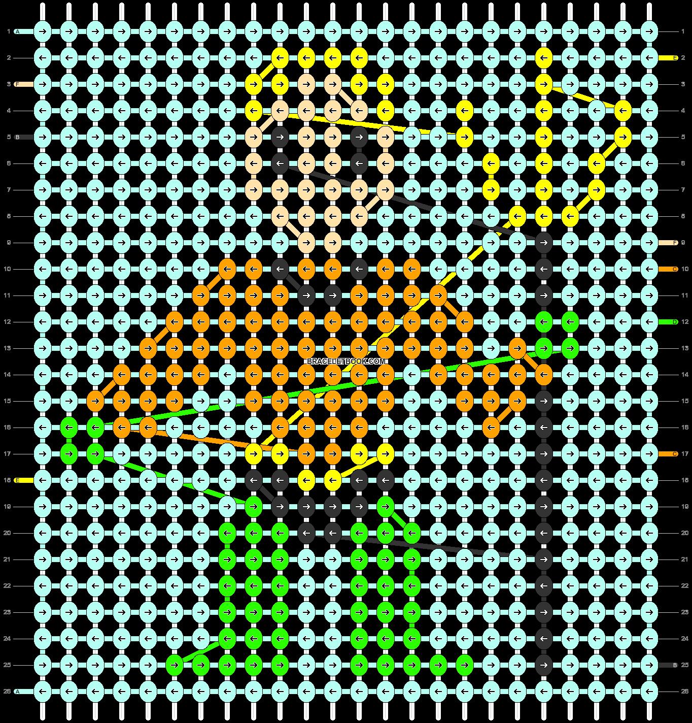 Alpha pattern #40433 pattern