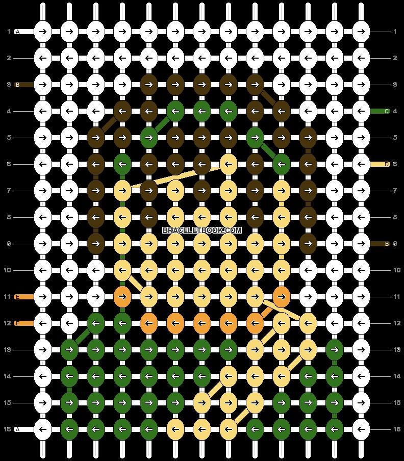 Alpha pattern #40467 pattern