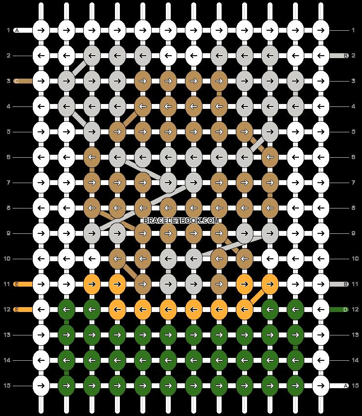 Alpha pattern #40470 pattern