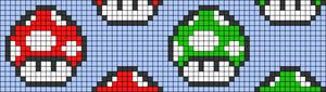 Alpha pattern #40497