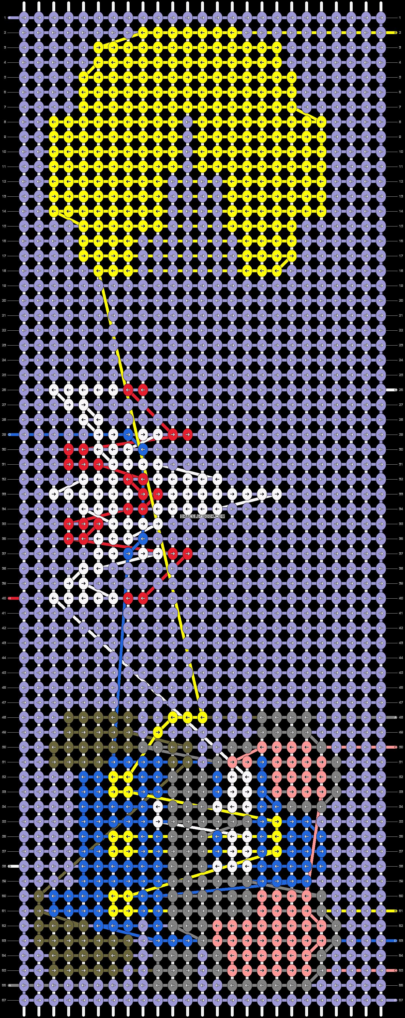 Alpha pattern #40519 pattern