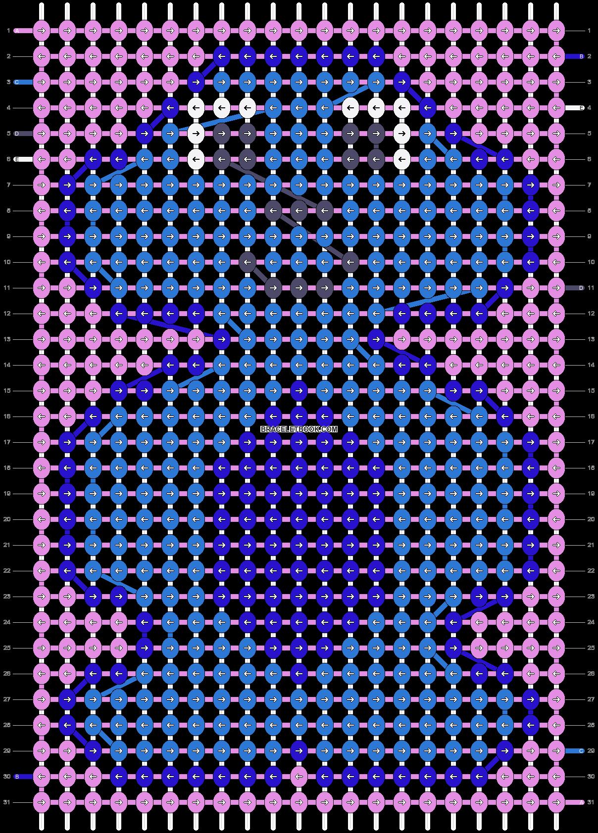 Alpha pattern #40572 pattern