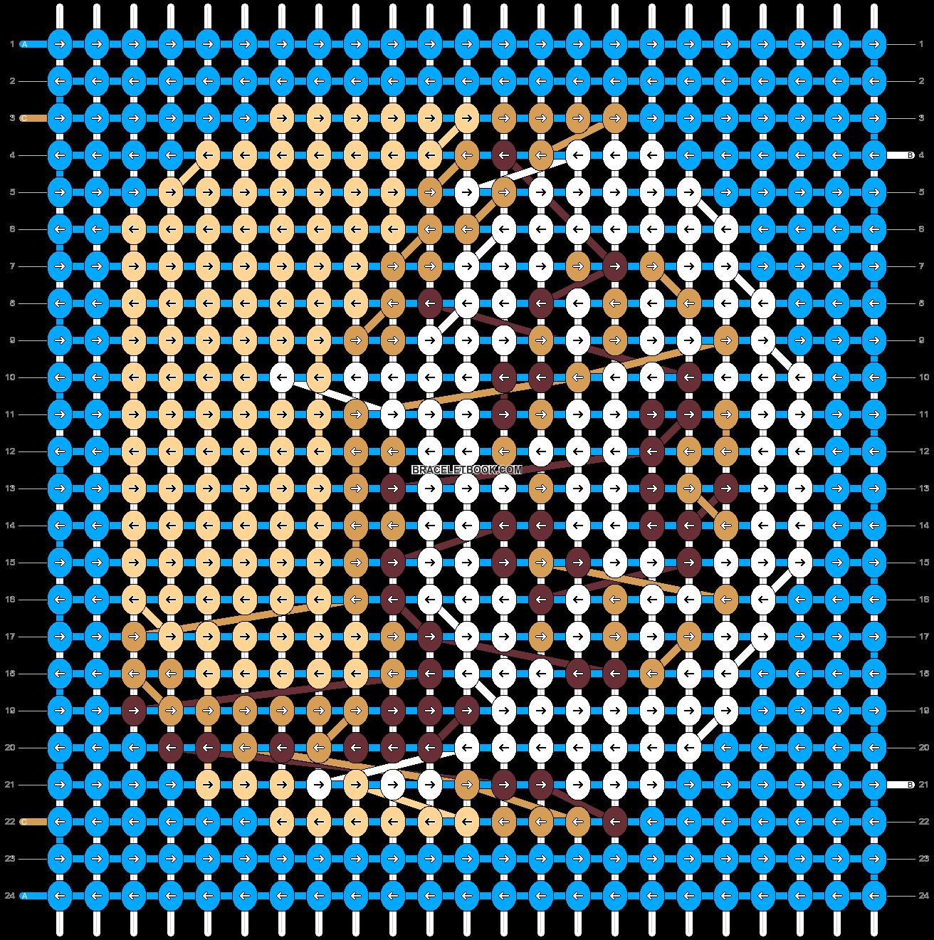 Alpha pattern #40576 pattern