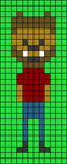 Alpha pattern #40579