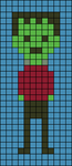 Alpha pattern #40580