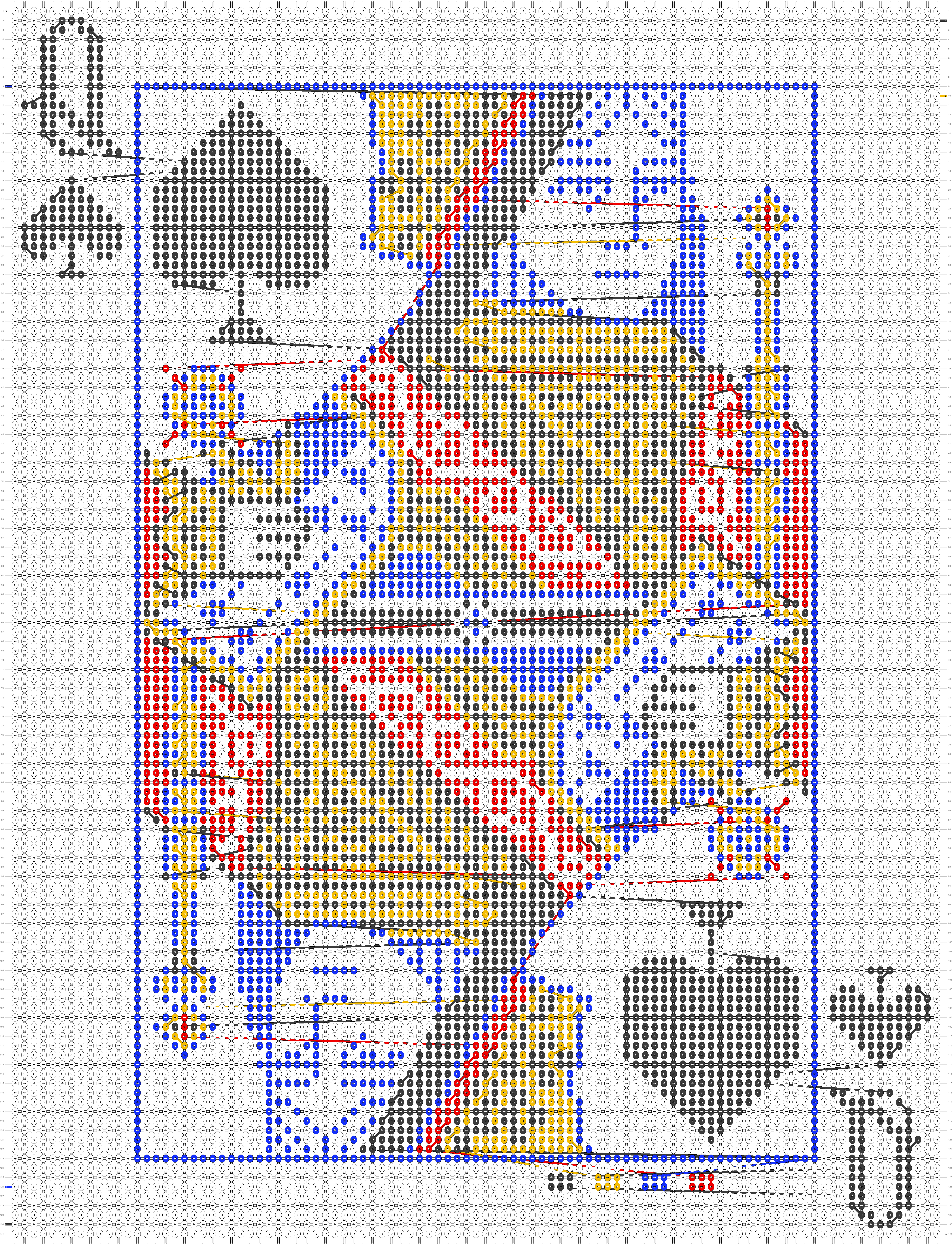 Alpha pattern #40594 pattern