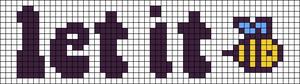 Alpha pattern #40595