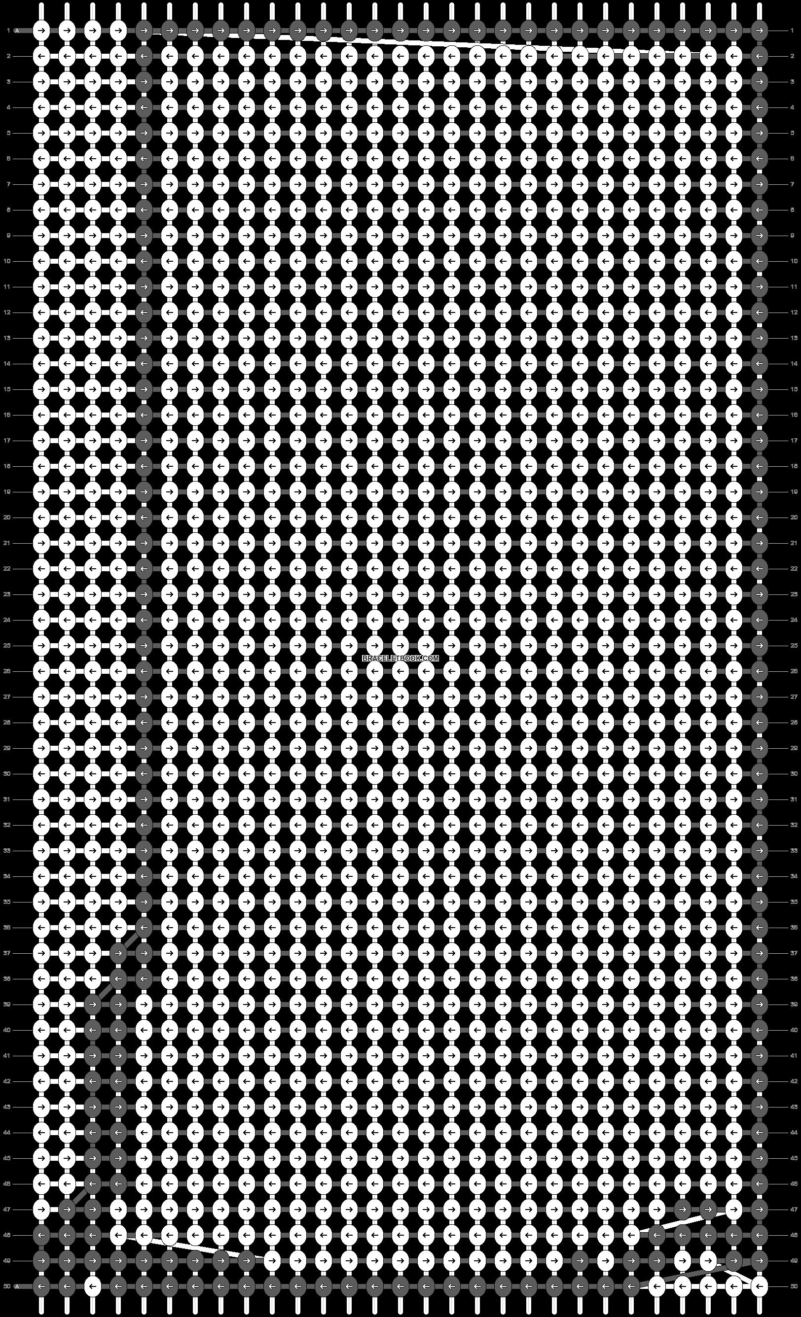 Alpha pattern #40635 pattern