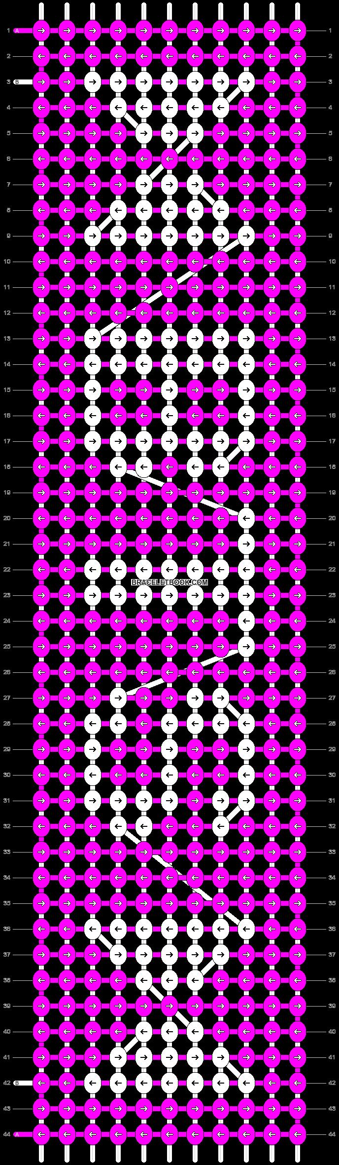 Alpha pattern #40662 pattern