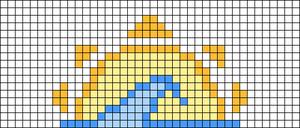 Alpha pattern #40663