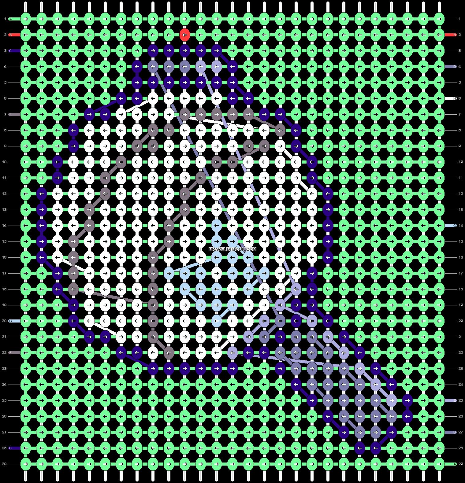Alpha pattern #40668 pattern
