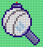 Alpha pattern #40668