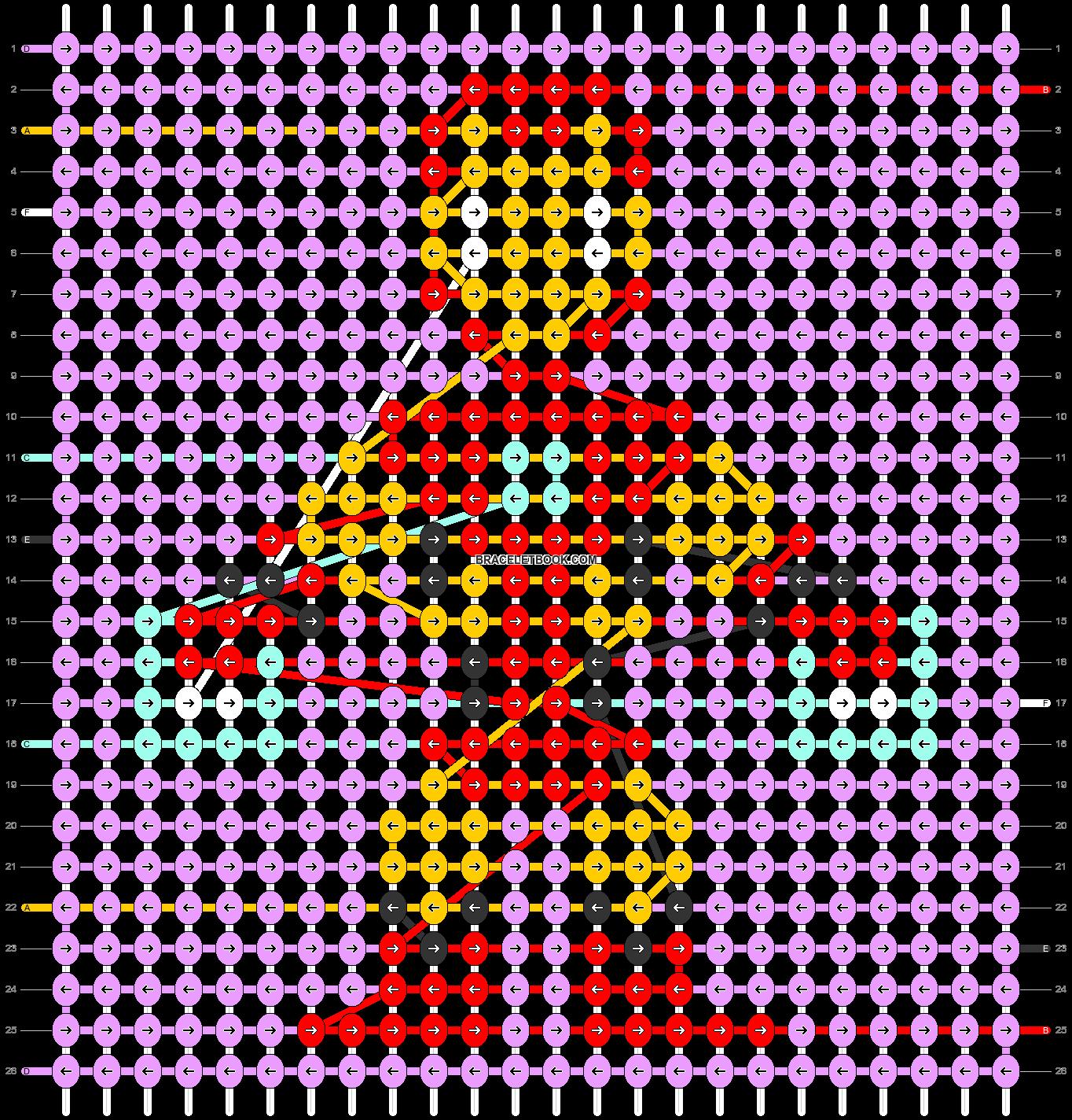 Alpha pattern #40672 pattern