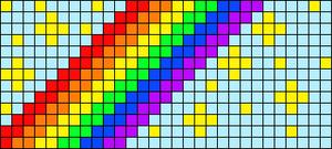 Alpha pattern #40686