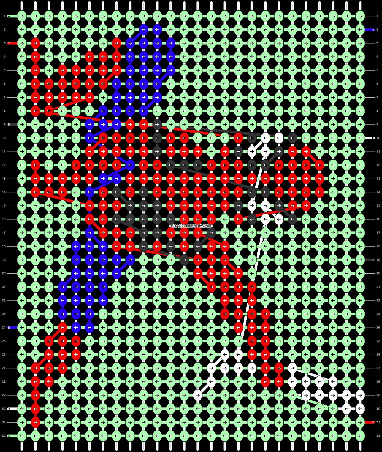 Alpha pattern #40706 pattern