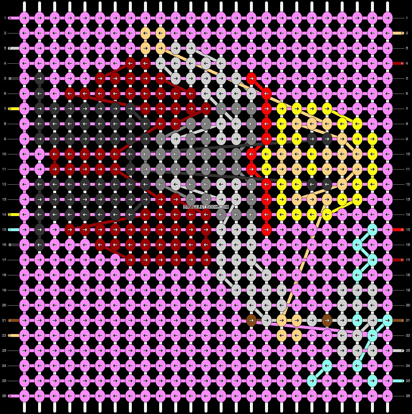 Alpha pattern #40708 pattern