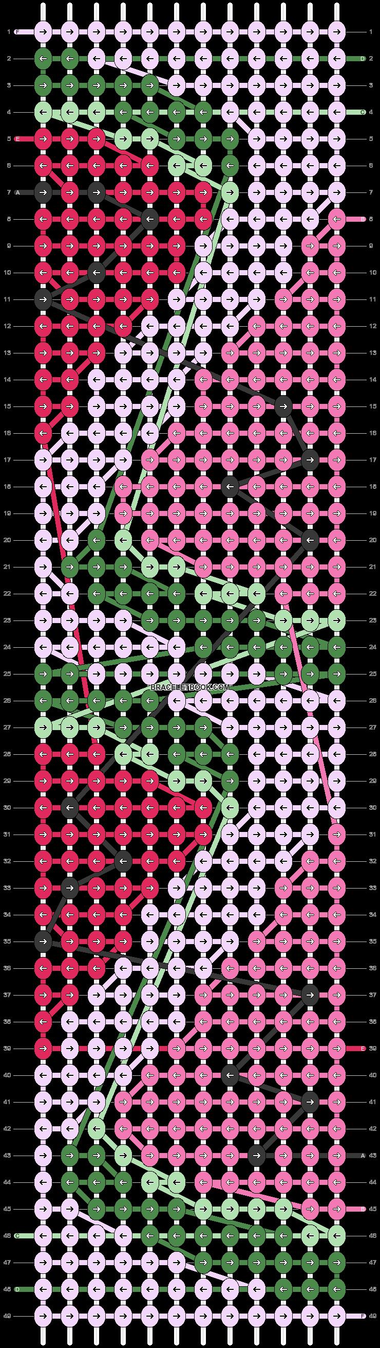 Alpha pattern #40711 pattern