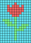 Alpha pattern #40719