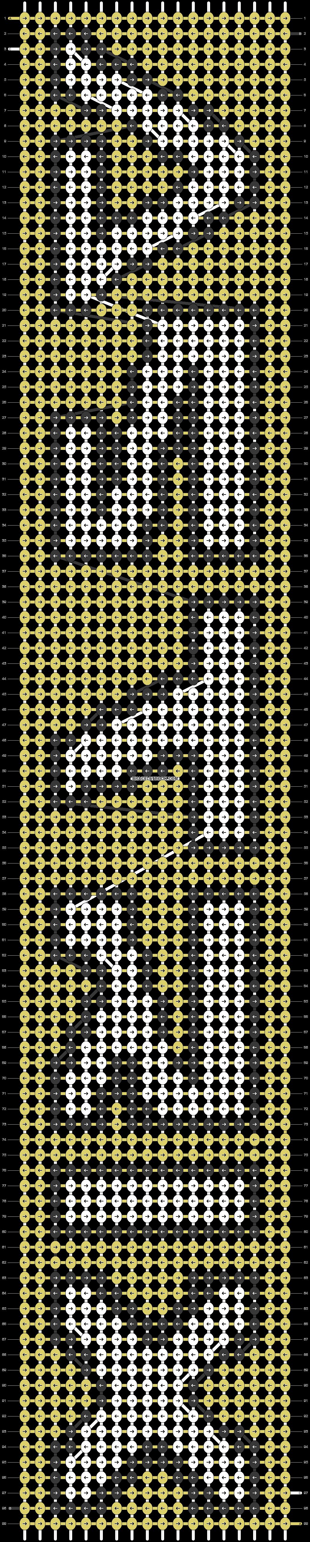 Alpha pattern #40729 pattern