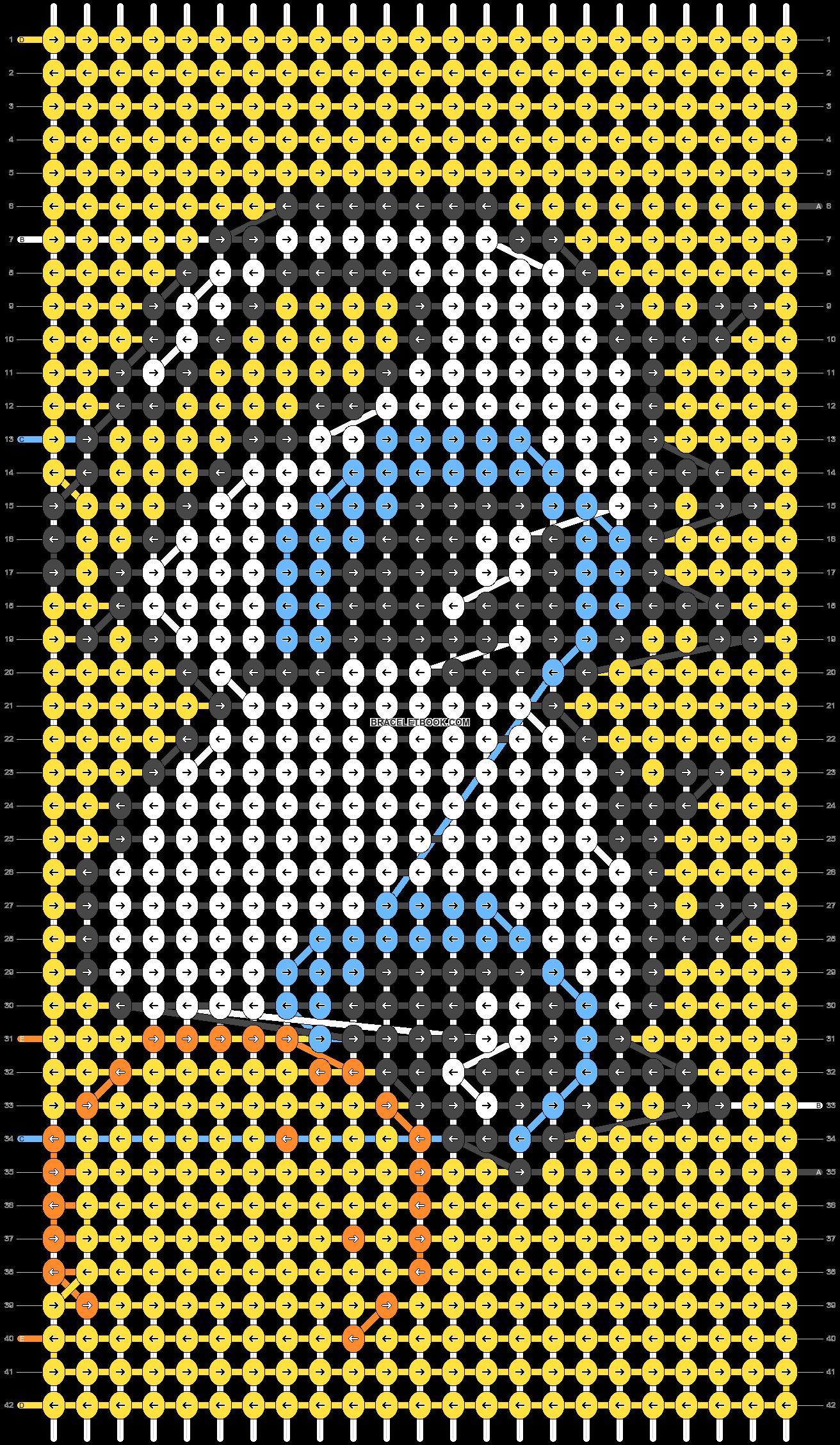 Alpha pattern #40740 pattern
