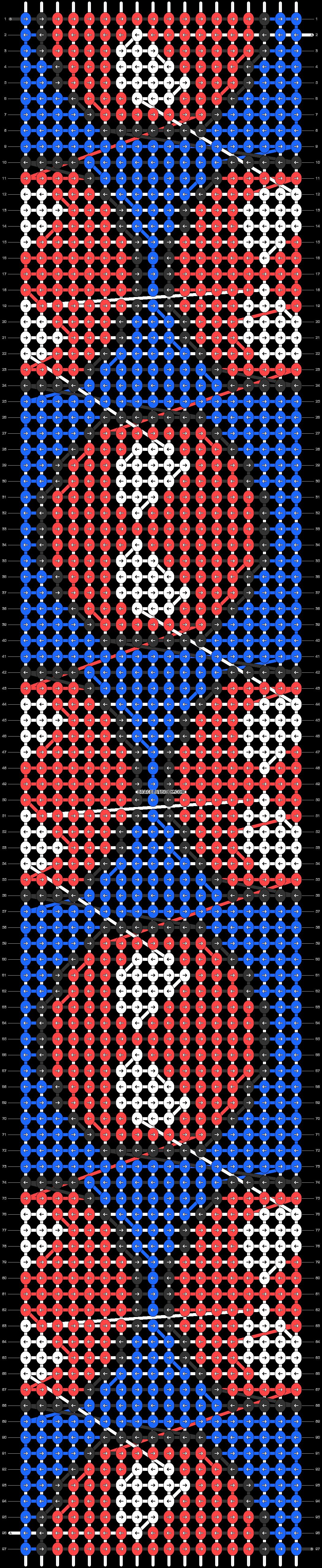 Alpha pattern #40754 pattern