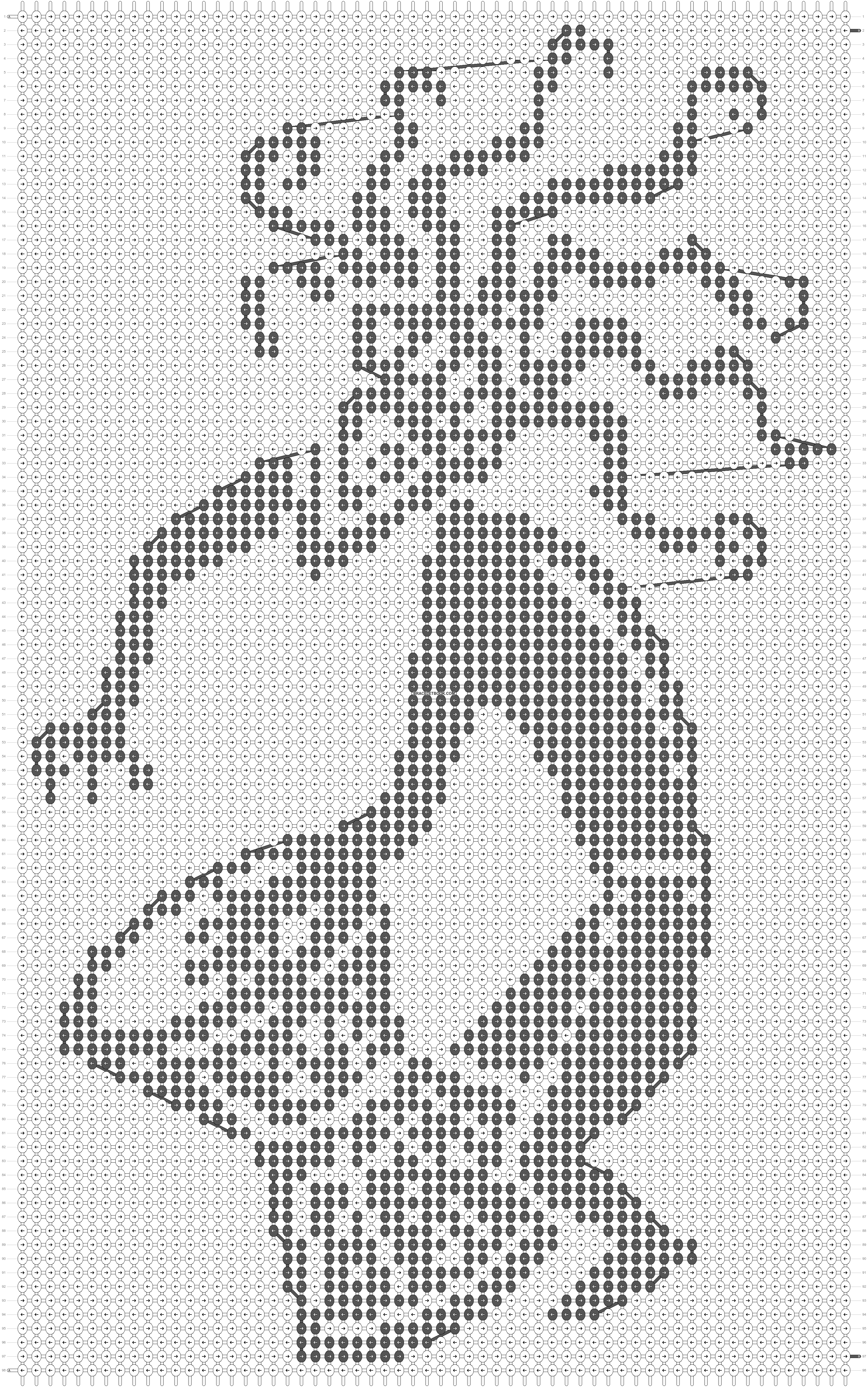 Alpha pattern #40755 pattern