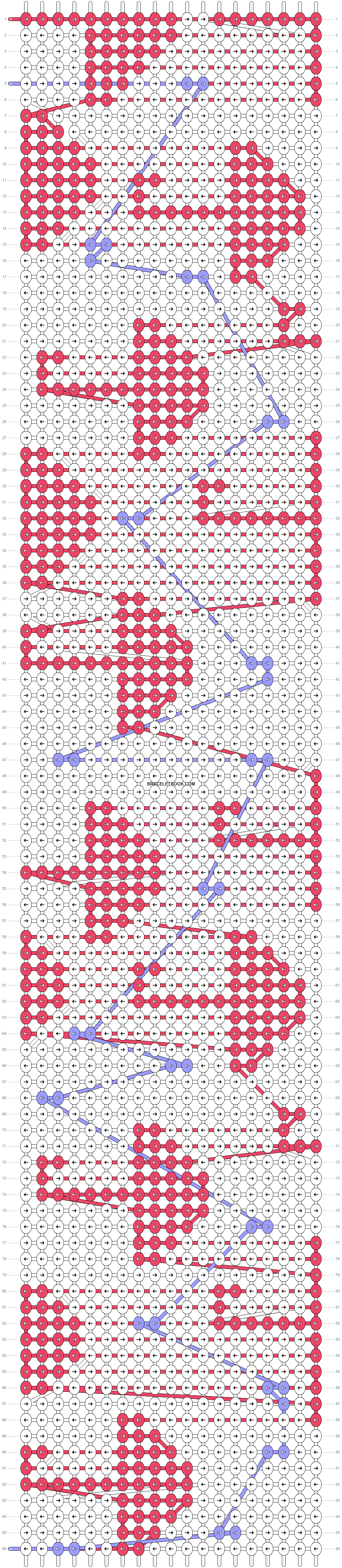 Alpha pattern #40756 pattern