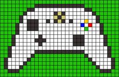 Alpha pattern #40762