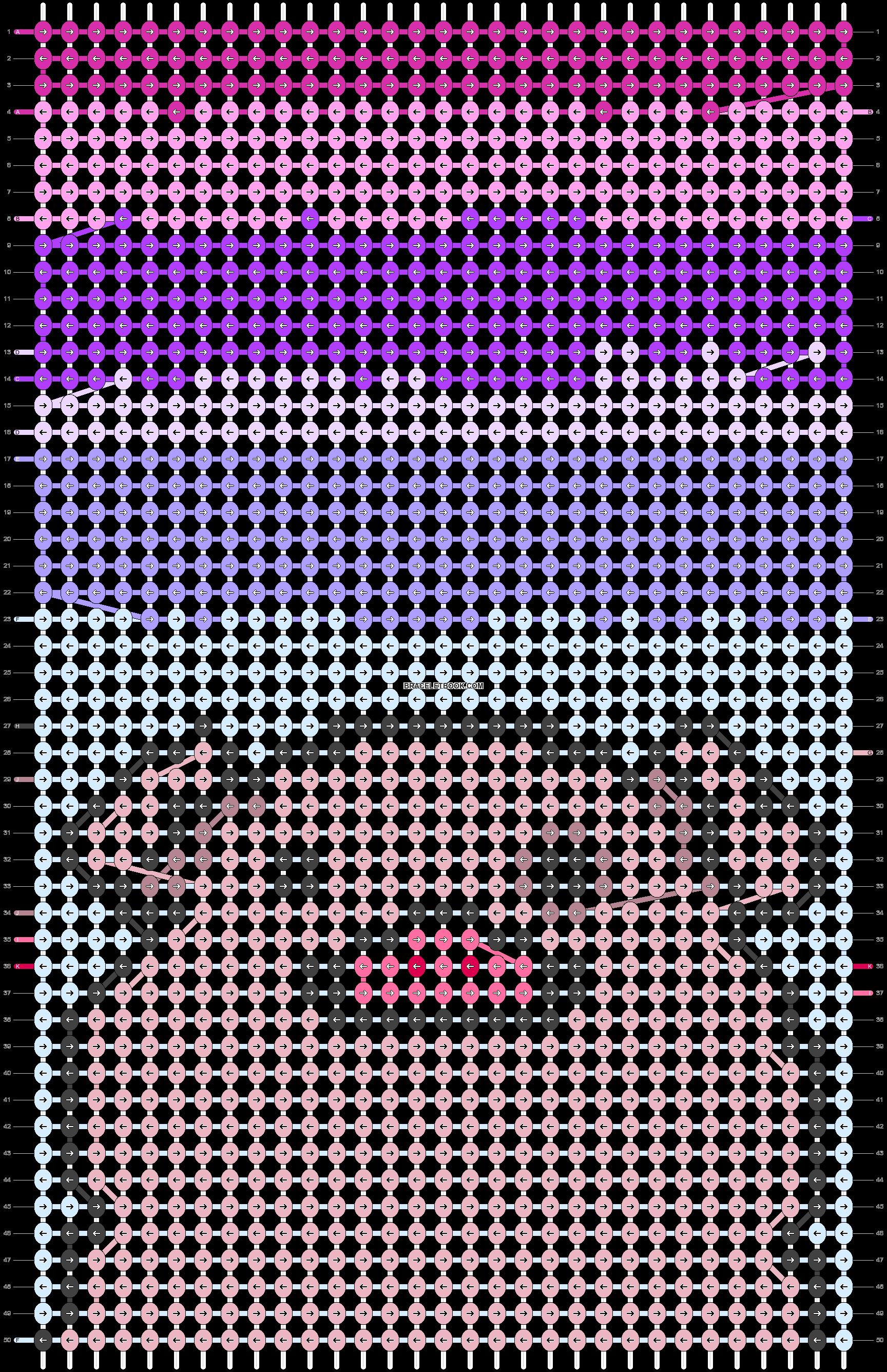 Alpha pattern #40767 pattern