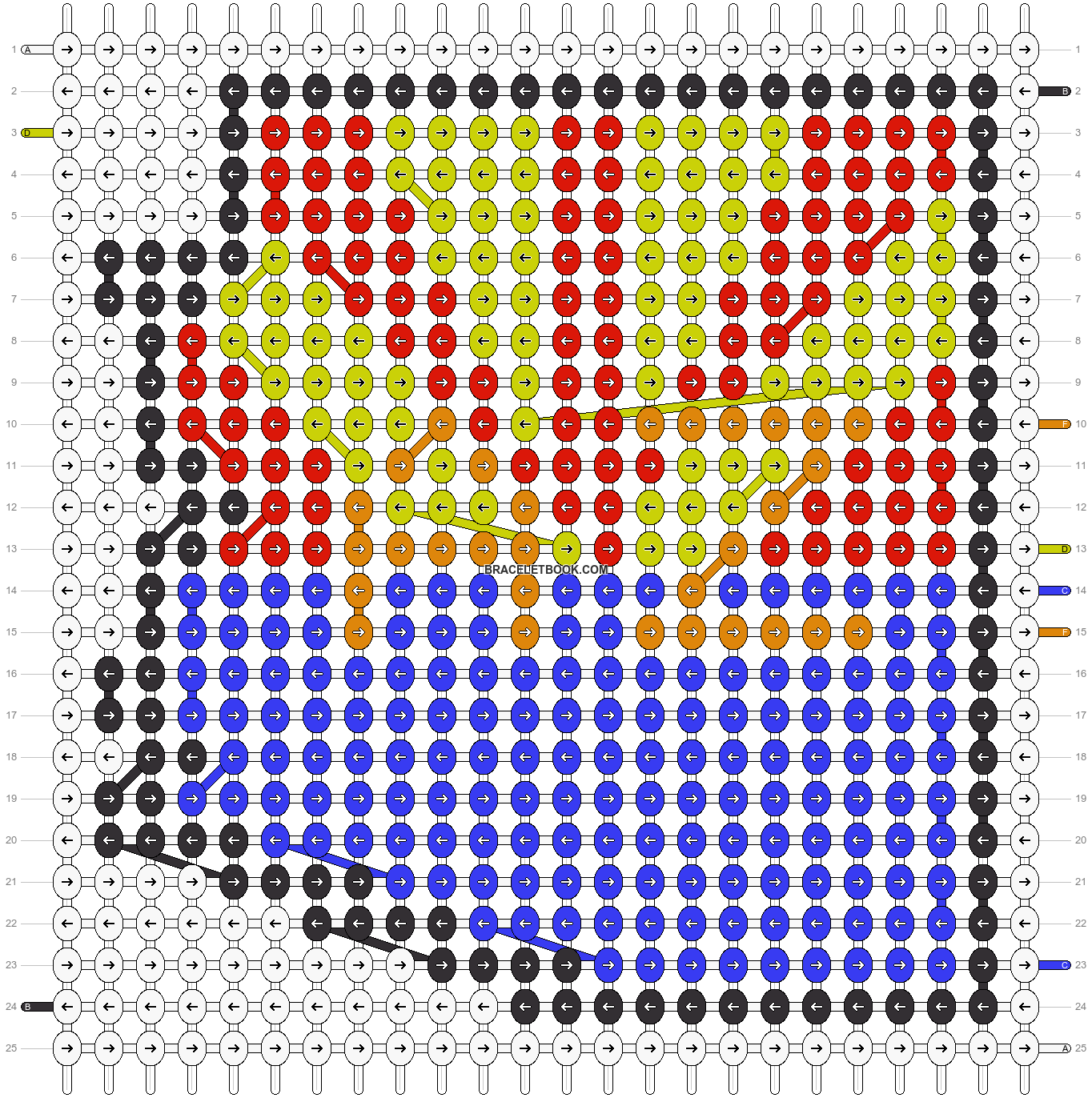 Alpha pattern #40773 pattern