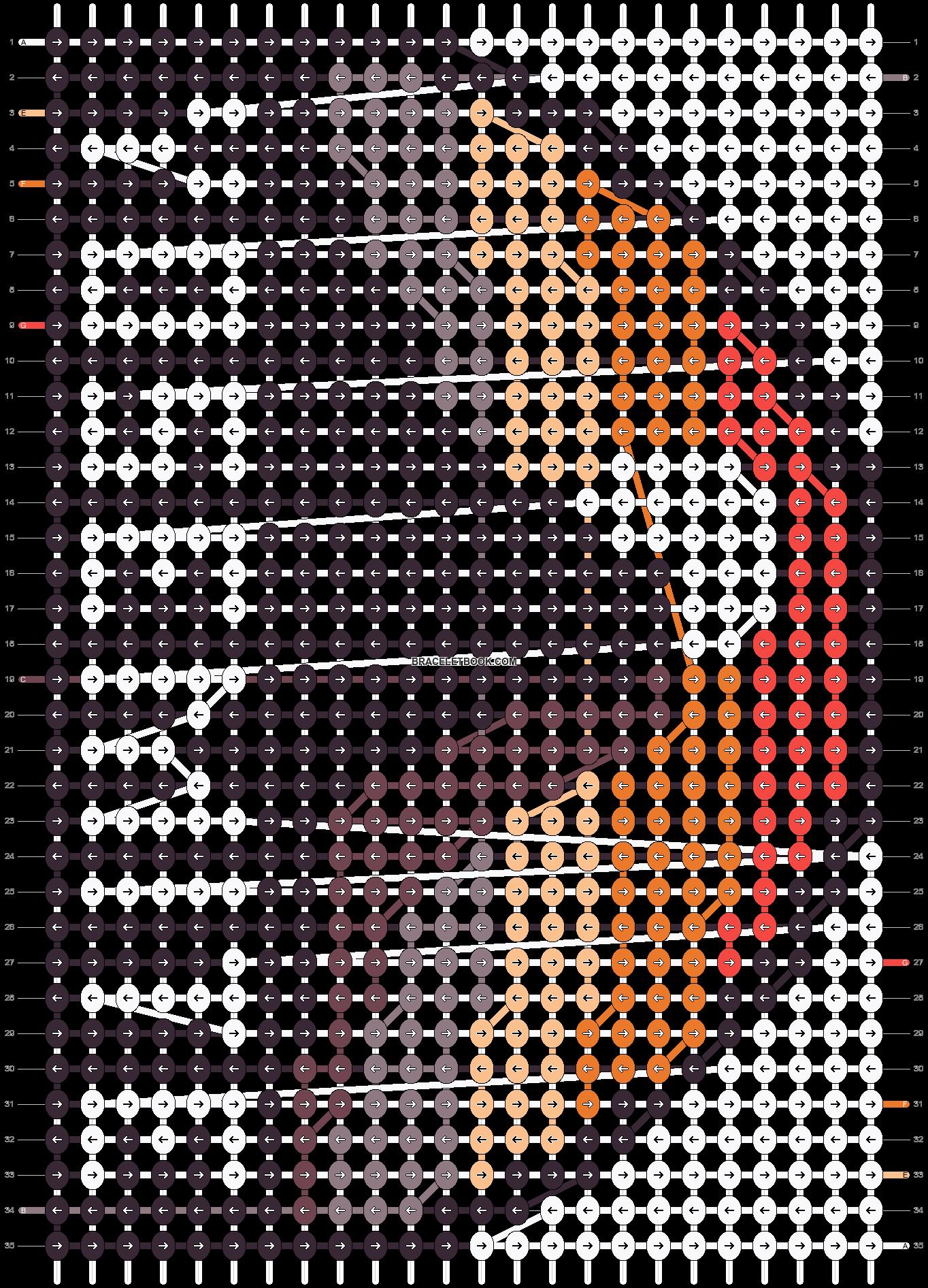 Alpha pattern #40796 pattern