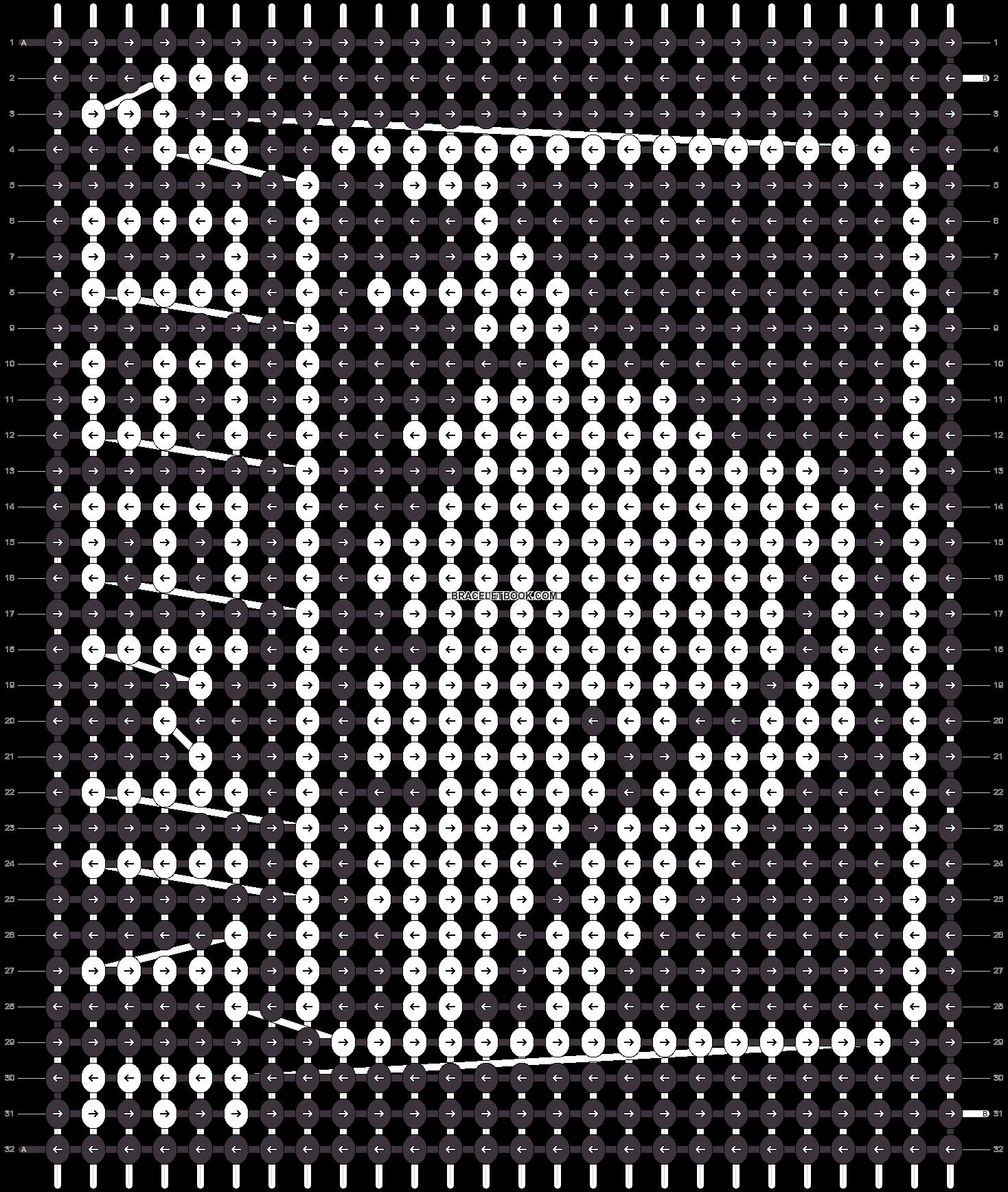 Alpha pattern #40801 pattern