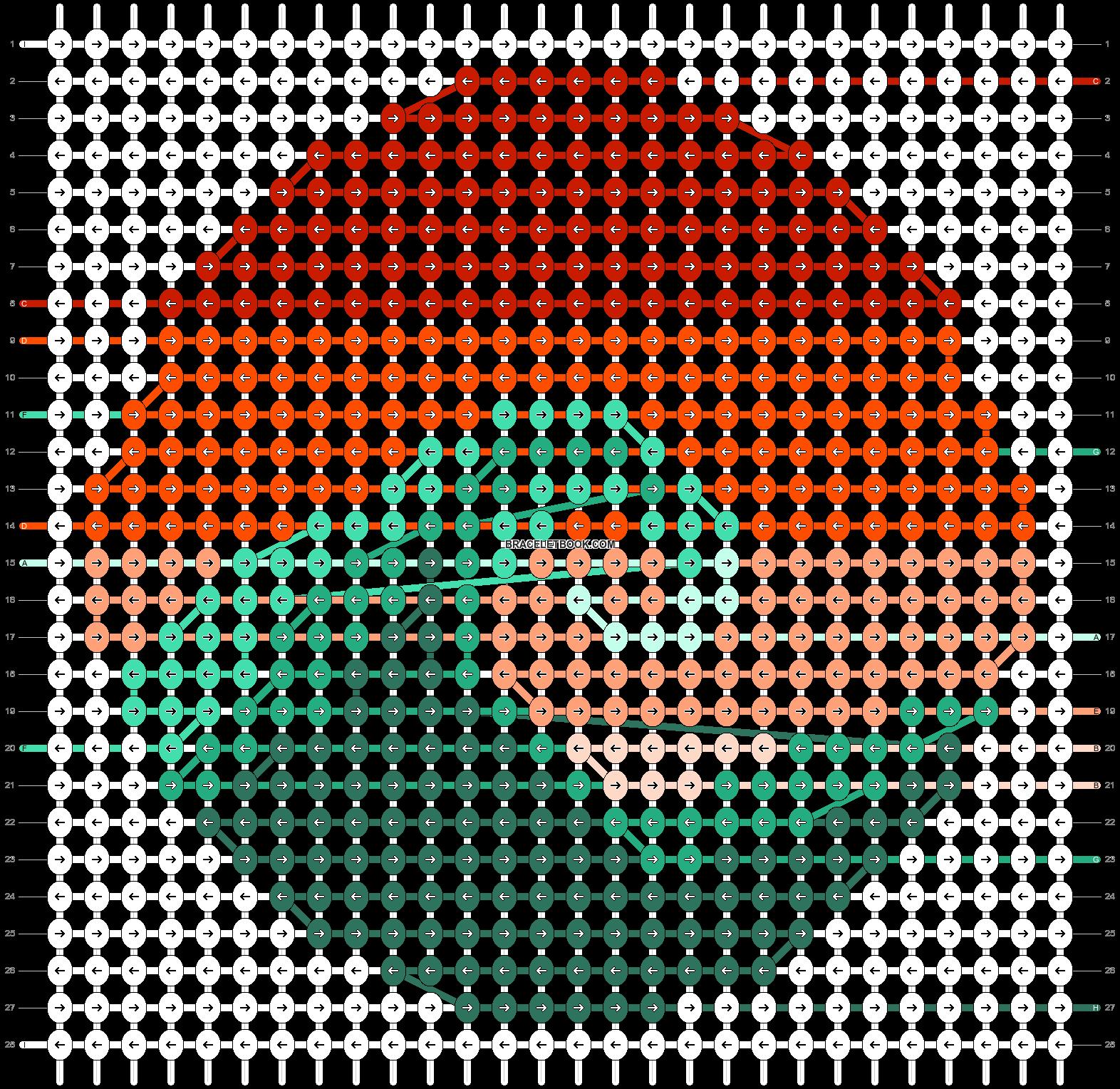 Alpha pattern #40816 pattern