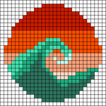 Alpha pattern #40816