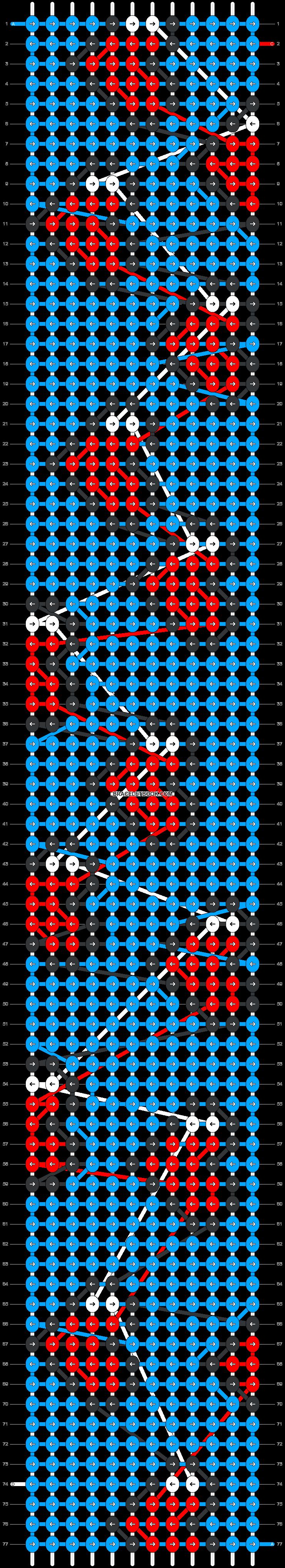 Alpha pattern #40822 pattern
