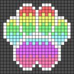 Alpha pattern #40824