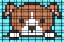 Alpha pattern #40828
