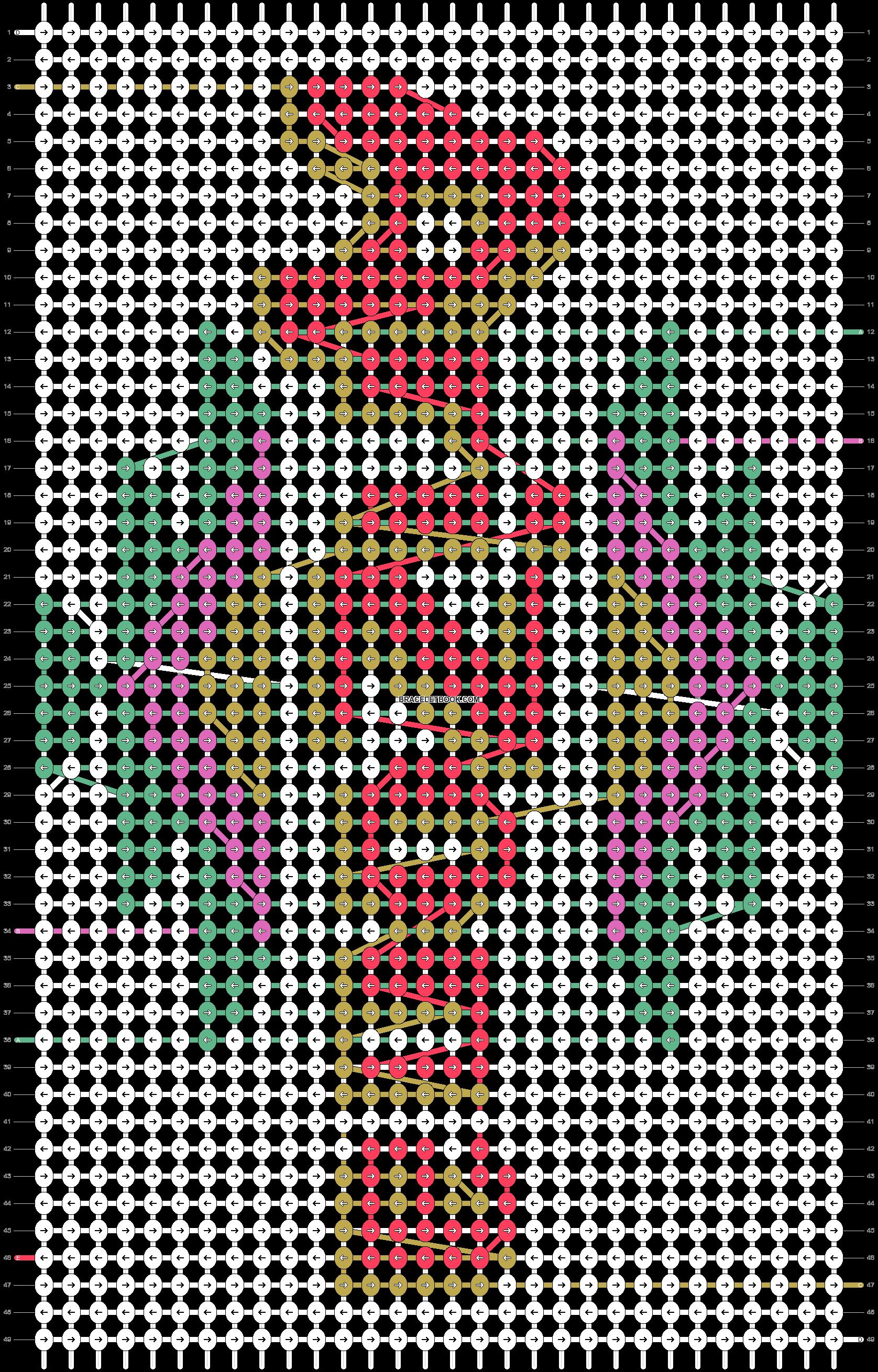 Alpha pattern #40840 pattern