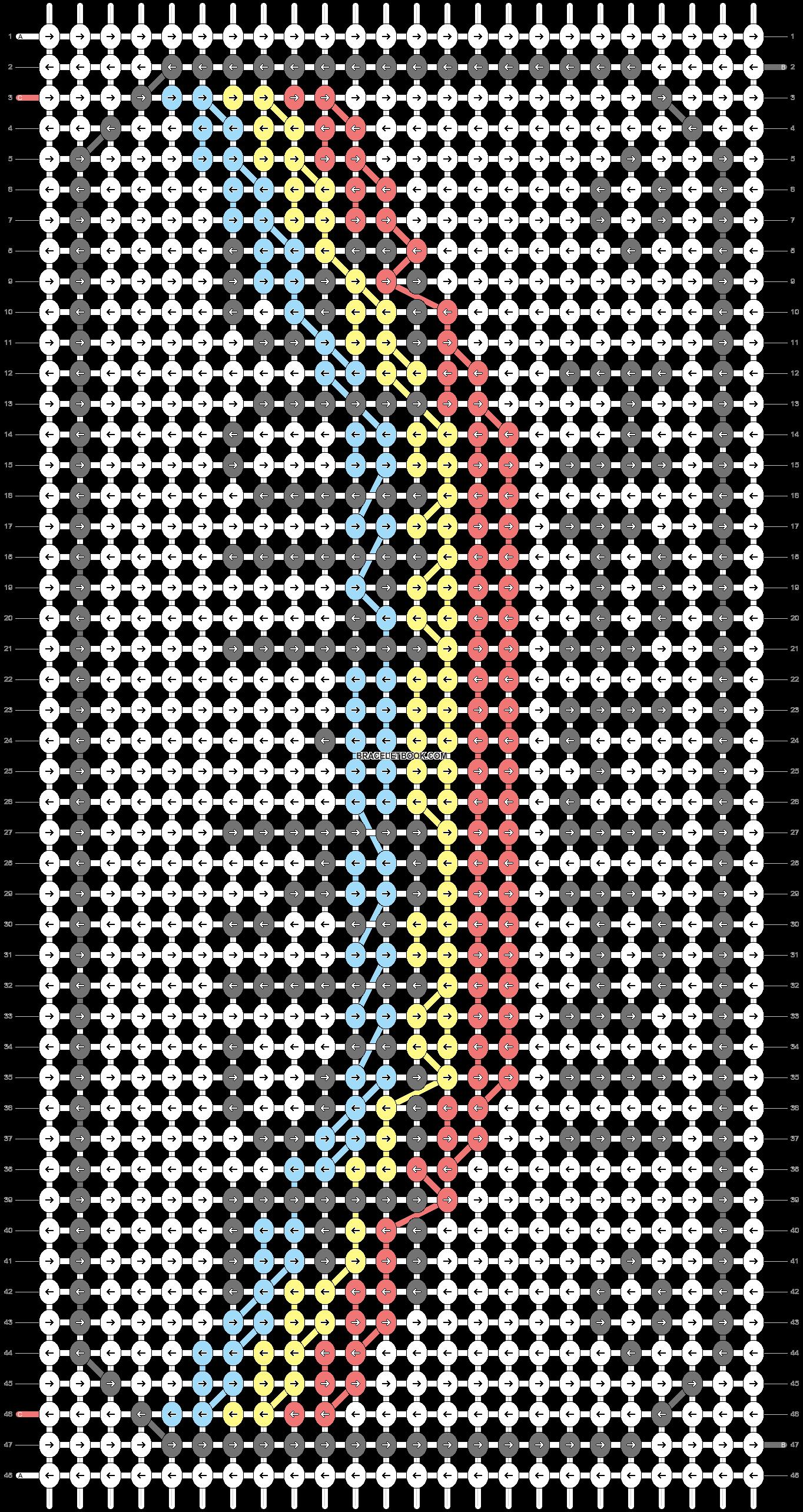 Alpha pattern #40856 pattern