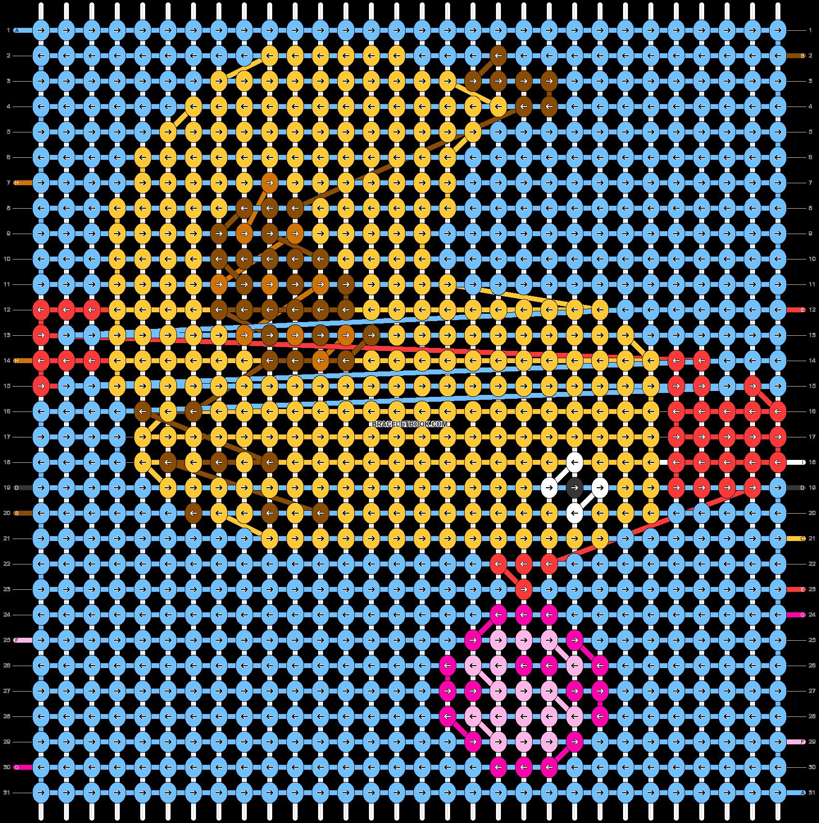 Alpha pattern #40860 pattern