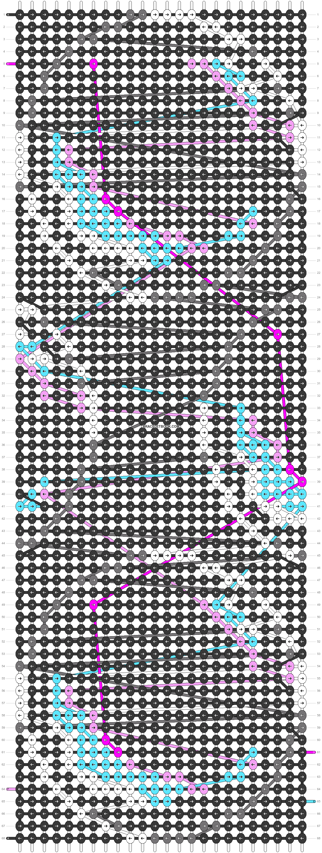 Alpha pattern #40913 pattern