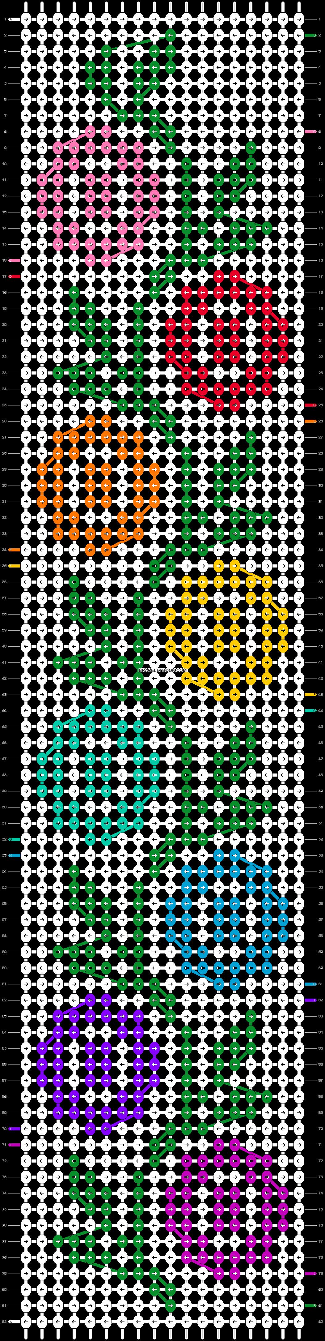 Alpha pattern #40917 pattern