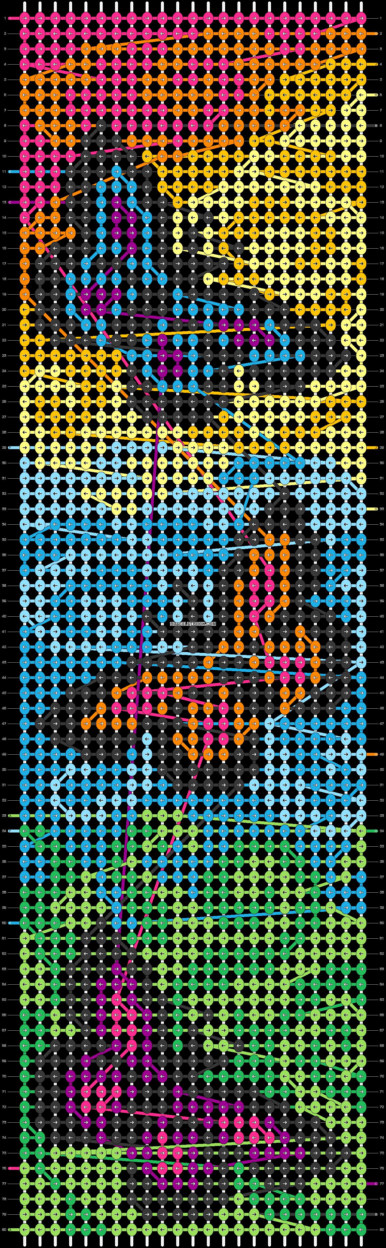 Alpha pattern #40923 pattern