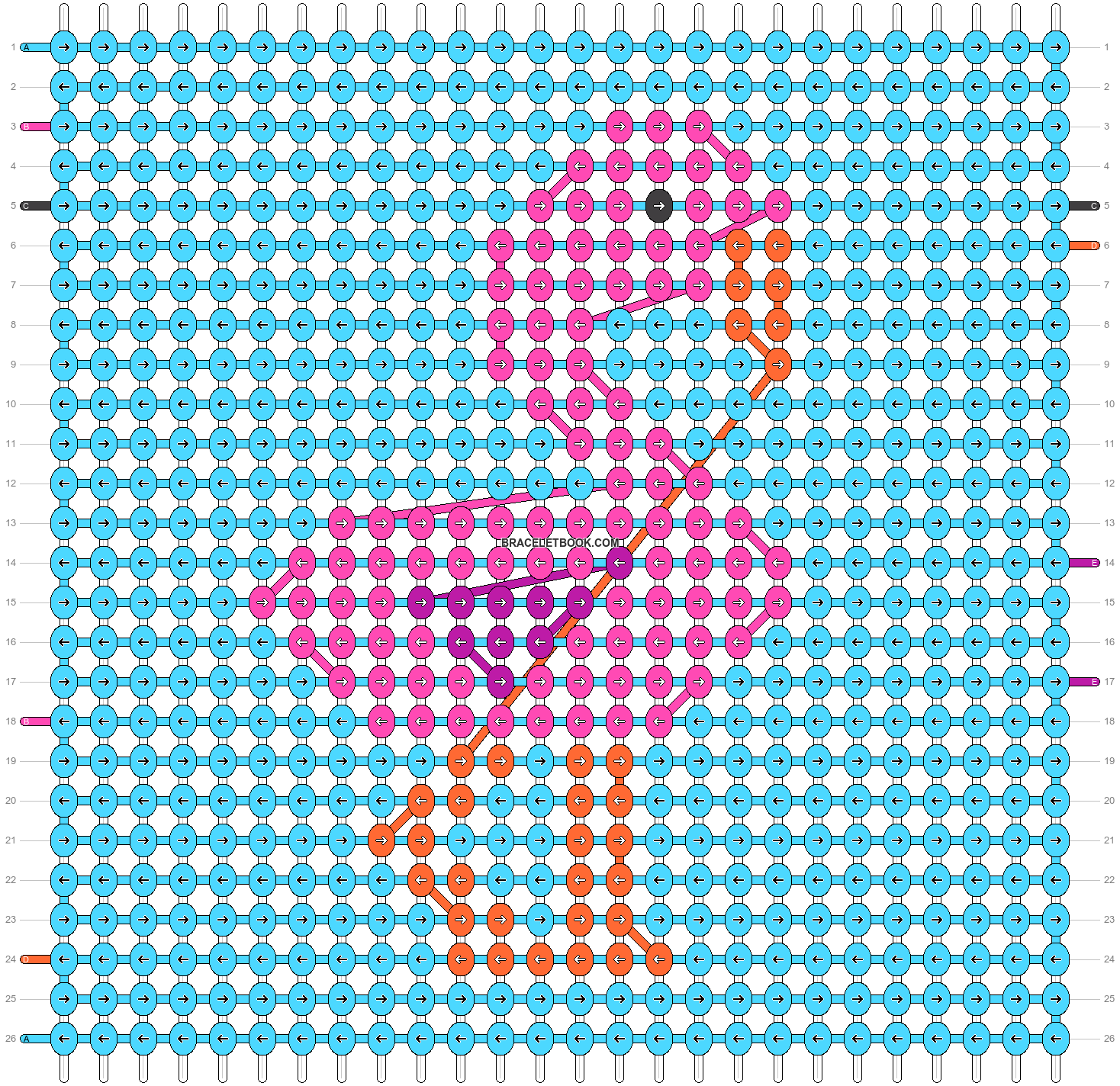 Alpha pattern #40943 pattern