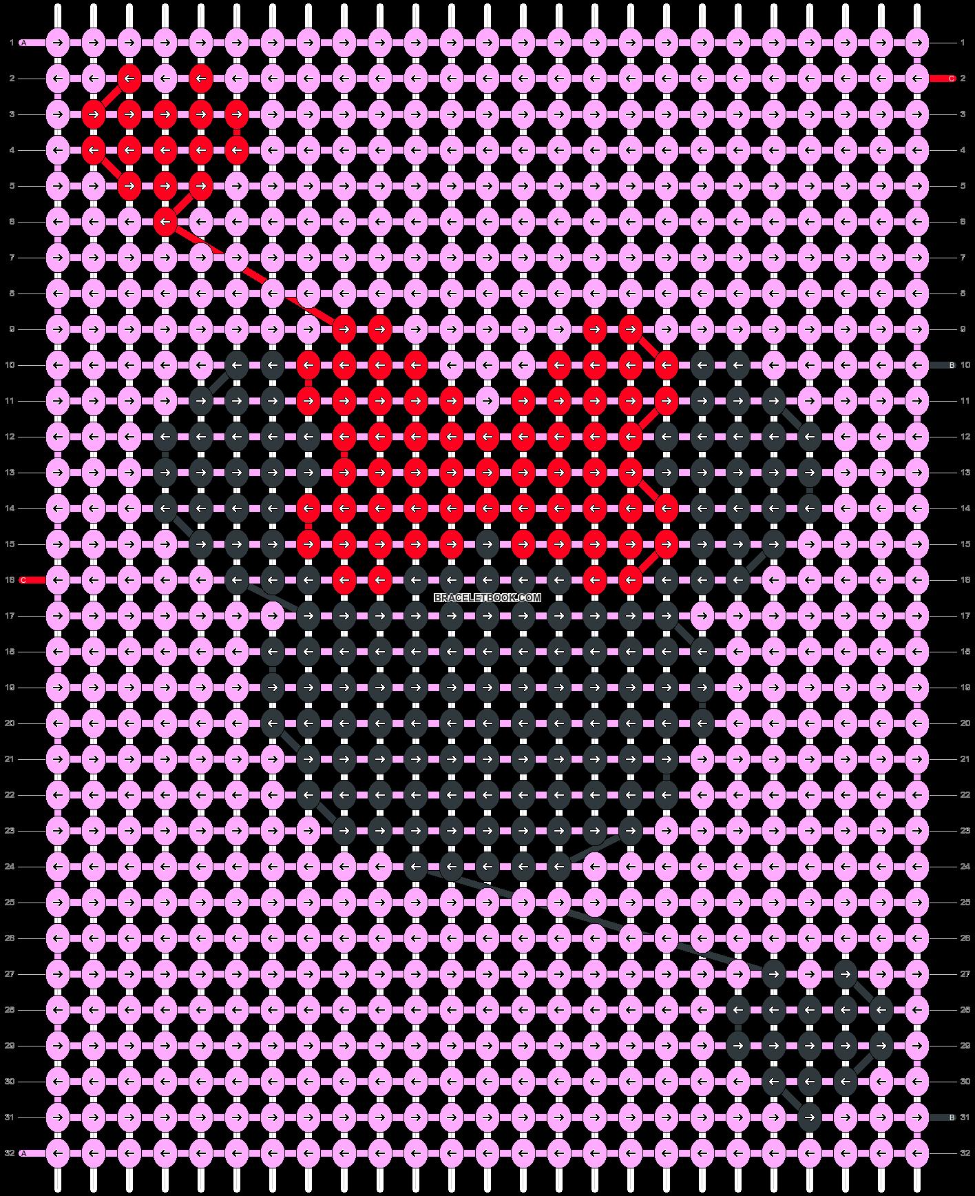 Alpha pattern #40944 pattern