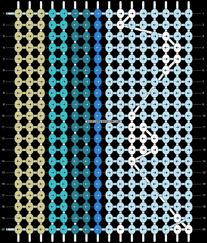 Alpha pattern #40947 pattern