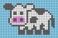 Alpha pattern #40979