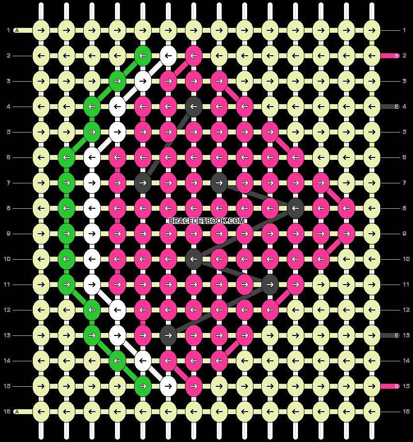 Alpha pattern #40996 pattern