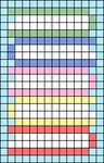 Alpha pattern #41016