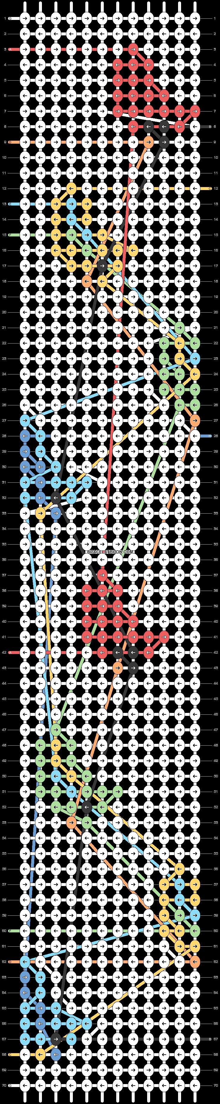 Alpha pattern #41031 pattern